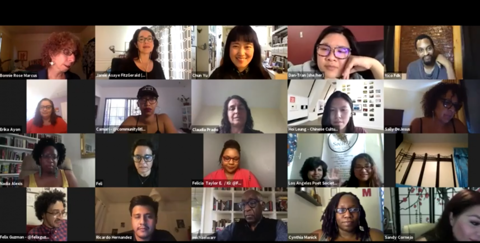 Poets & Writers' Virtual Connecting Cultures Reading